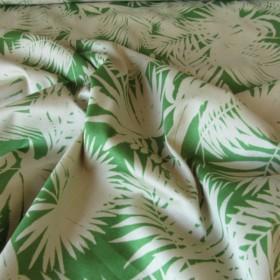 Cotton fabric Palm trees