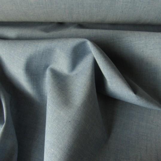 Light blue Cotton Chambray fabric
