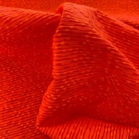 Orange Cotton and Viscose Jacquard fabric Balenciaga