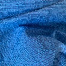Bleu de France Cotton and Viscose Jacquard fabric Balenciaga