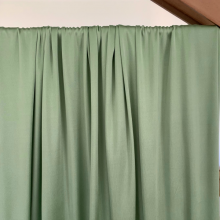 Remnant Viscose Jersey fabric Almond green 55 cm x 155 cm