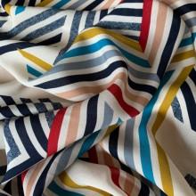 Remnant Viscose fabric Kaleidoscope 106 cm x 140 cm
