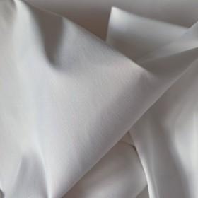 White Poplin Cotton fabric