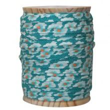 Nastro Sbieco Osami blu turchese x 50cm