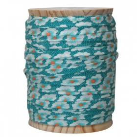 Bias tape Osami bluee turquoise x 50cm