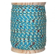 Cotton Piping tape Helium blue turquoise