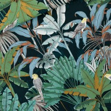 Cotton Canvas Jungle Green Gables
