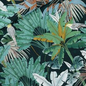 Viscose Rayon Jungle Green Gables
