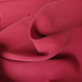 Raspberry Cupro fabric