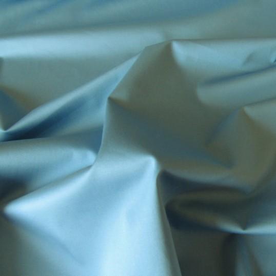 Powder Blue Cotton Sateen
