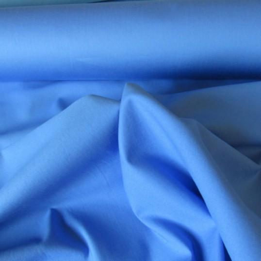 Periwinkle Blue Cotton Sateen