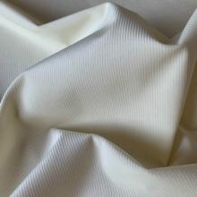 Remnant Off white Corduroy Cotton fabric 63 cm x 150 cm