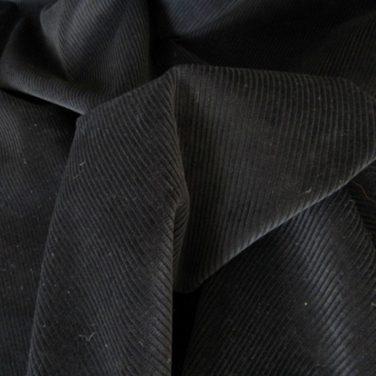 Dark blue Cotton Corduroy fabric