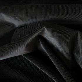 Black Cotton Corduroy fabric