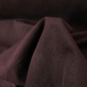 Eggplant Cotton Corduroy fabric