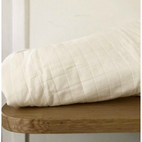 Remnant Quilted Cotton Taiyo Off White 30 cm x 140 cm