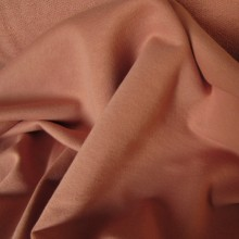 Antique Pink French Terry knit fabric