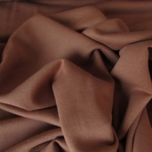 Biscuit colored French Terry knit fabric