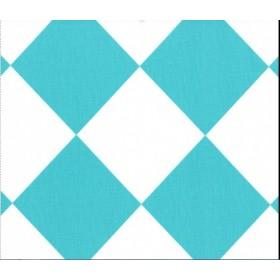 Fabric cotton canvas tipsy square  x 50cm