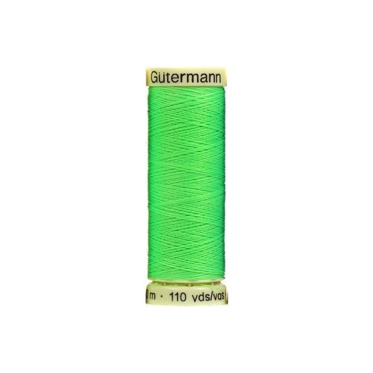 Thread Gutermann green neon