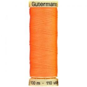 Thread Gutermann orange neon