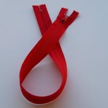 Red zip 40cm x1
