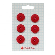 Buttons Solid color M x6