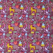 Evening Knit cotton fabric