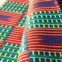 African cotton fabric Kente  (10)