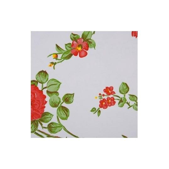 Oilskin fabric rosedale white