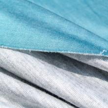 Scampolo maglia jersey turchese 150 cm x 180 cm