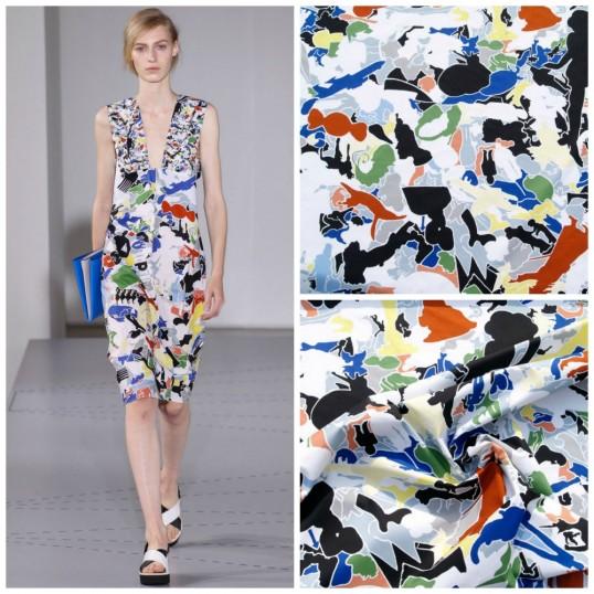 Cotton fabric Urban Jungle