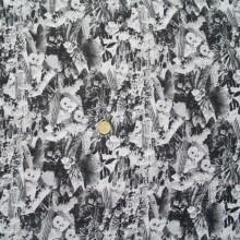 scampolo cotone stampa Cactus 160 cm x 136 cm