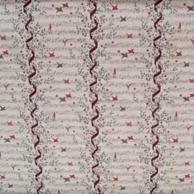 Ritornello cotton fabric