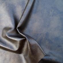 Vera pelle capra bronzo x1