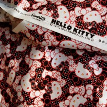 Hello Kitty cotton fabric