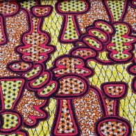 Cotton fabric african print