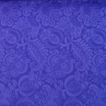 Tessuto scuba viola floreale