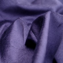 Cotton velvet fabric purple