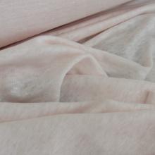 maglina jersey di lino rosa chiaro
