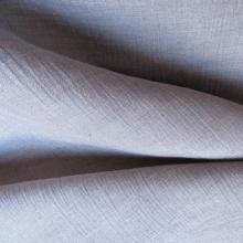 Tessuto di lino grigio