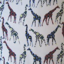 tessuto di poliestere giraffe