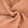 double gauze cotton fabric  powder pink