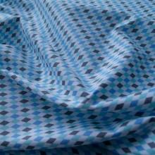 scampolo cotone Arlecchino blu 127 cm x 110 cm
