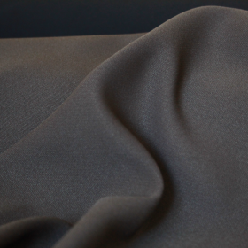 Khaki polyester fabric