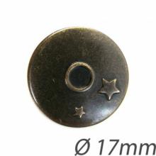 Bottoni metallo stile jeans (x 2)