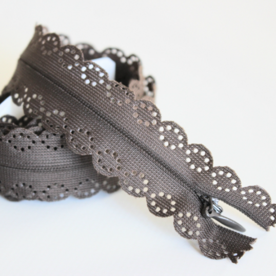 lace invisible zip 60 cm