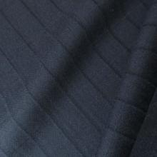 tessuto di lana blu scuro a quadretti