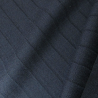 Italian wool fabric dark blue