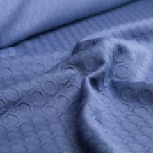 felpa di cotone blu avio